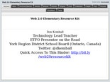 Web 2.0 Elementary Resource Kit