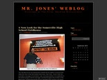 Mr. Jones' Weblog