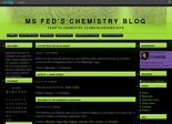 Ms Fed's chemistry blog | Year 12 chemistry class blogging site