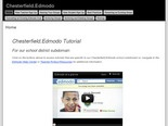 Chesterfield.Edmodo Tutorials