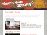 Whats Your Story? 2011 Winners