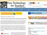 Free Technology for Teachers: 7 Ways to Send Group Texts to Parents and Students