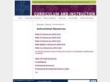 Instructional Resources - Mathematics