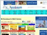 MrNussbaum's Math Games