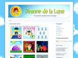 Jeanne de la Lune - Animations - Graphics - Educational Design