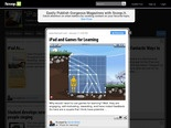iPad and Games for Learning
