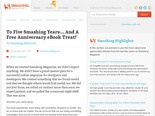 To Five Smashing Years... And A Free Anniversary eBook Treat! - Smashing Magazine