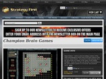 Strategy First - Champion Brain Games