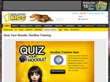 Quiz Your Noodle: National Geographic Bee -- National Geographic Kids
