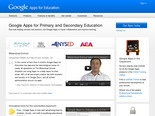 K-12 - Google Apps for Education