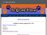 Eddins 4th Grade Website