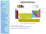 Chemical Elements.com - An Interactive Periodic Table of the Elements