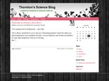 Thornton's Science Blog