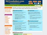 Vocabulary, Vocabulary Games - www.myvocabulary.com