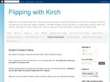 Flipping with Kirch: Student-Created Videos