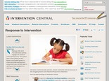 Response to Intervention | Intervention Central
