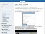 Edmodo Help Center - Host a Training in Edmodo |