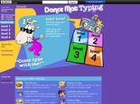 BBC - Schools - Dance Mat Typing - Home