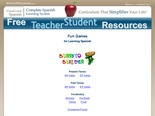 Free Spanish Resources - Games