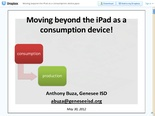 Dropbox - Moving beyond the iPad as a consumption device.pptx - Simplify your life