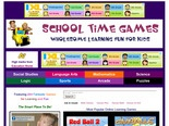 Online Math Games, Logic Games, Science Games, Language Arts Games, and more!