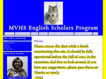 MVHS English Scholars Program