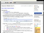 K-12 Tech Tools © - Classroom Website How To