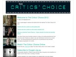The Critics Choice - Oxygen