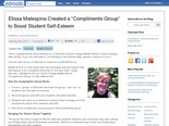 Edmodo Compliments Group