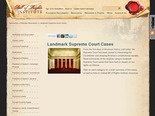 Landmark Supreme Court Cases