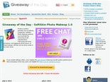 Giveaway of the Day - free licensed software daily.