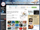 Visual Dictionary Online