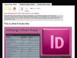 InDesign Shortcuts - Complete List [INFOGRAPHIC]