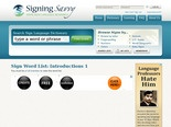 Browse Signs | ASL Sign Language Video Dictionary