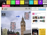 London 1: text, images, music, video | Glogster