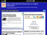 Open Educational Resources in Higher Education