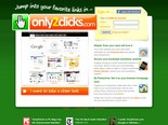 Only2Clicks - speed dial to favorite web site and make it your start page