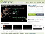 The Khan Academy: Search the Video Tutorials