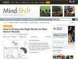 How to Choose the Right Words for Best Search Results | MindShift