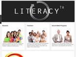 LiteracyTA offers practical strategies and approaches that teachers can use to improve students' ability to read, write, and speak