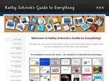 Kathy Schrock's Guide to Everything - Home Page
