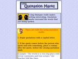 New York State Elementary Test Prep- ELA 4- Grade 3 - lesson on quotation marks