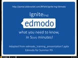 Ignite-ing-Edmodo | SlideRocket, Online Presentation Tools
