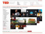 TED: Ideas worth spreading