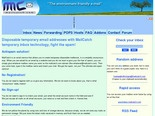 Disposable Temporary Email Addresses - AntiSpam Temporary Inbox at MailCatch.com - About