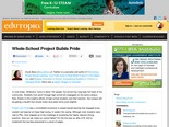 Whole-School Project Builds Pride