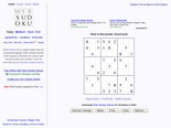 Web Sudoku - Billions of Free Sudoku Puzzles to Play Online