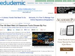 The 100 Best Web 2.0 Classroom Tools Chosen By You | Edudemic