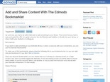 Add and Share Content With The Edmodo Bookmarklet | Edmodo – Where learning happens.