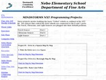 Nebo Elementary School Department of Music